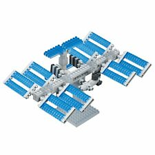 NANOBLOCK NBH.129 - SPACE STATION - SIGHTS TO SEE SERIES 390 Pieces - NEW