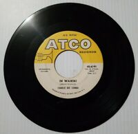 Charlie Bee Combo Old Rockin' Square / In Waikiki 45 RPM Vinyl ATCO Records 1961