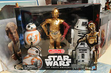 STAR WARS THE FORCE AWAKENS DROID 3-PACK BB-8,C-3PO AND RO-4LO TARGET EXCLUSIVE!