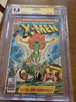 X-Men #101 CGC 9.8 White Pages SS Chris Claremont 1st Appearance Phoenix