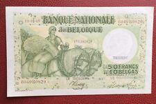 Belgique - Magnifique  Billet de 50  Francs / 10 Belgas du 11-01-1945