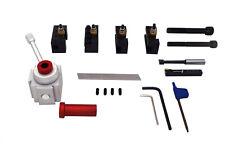 PAULIMOT Schnellwechsel-Stahlhalter-Set mit Drehmeißel, Bohrstange, Abstechstahl