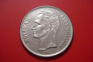 Venezuela 5 Bolivar 1977