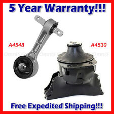 L479 Fits: 2006-2011 Honda Civic 1.8L MANUAL, Front Motor & Top Torque Mount 2pc