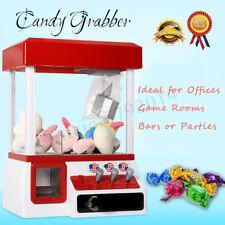 Xmas Candy Grabber Arcade Machine Toy Claw Game Kids Fun Grane Sweet Grab Gadget