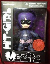 """Mezco Kick Ass 2010 SDCC Comic Con Exclusive Hit Girl 6"""" Vinyl Figure Mez-Itz NR"""