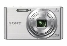 Sony Cyber Shot W830 Digital Camera Silver