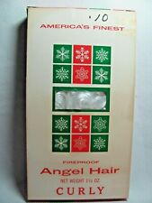 Vintage Unopened Box of CURLY Angel Hair Made in USA
