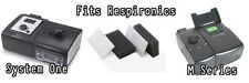 Respironics M or System One Series Ultra Fine Filter 12 Pack and 2 Foam Filters