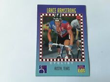 Lance ARMSTRONG Cyclist 1994 Sports Illustrated for KIDS Cycling Card #276