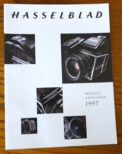 Hasselblad Product Catalogue 1997 - English 40-Pages - PERFECT LN