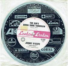 """JOHNNY O'KEEFE - THE SUN'S GONNA SHINE TOMORROW - RARE 7"""" 45 VINYL RECORD - 1966"""
