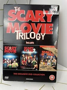 Scary Movie DVD Boxset Trilogy 1 2 3.5 Comedy Horror Satire Spoof Film Used M183