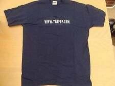 THE PRP.COM Navy T Shirt Size M Metal Music Rare