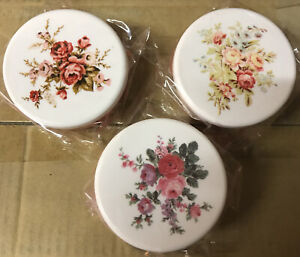 Sass & Belle Vintage Rose Small Pots - Set of Three