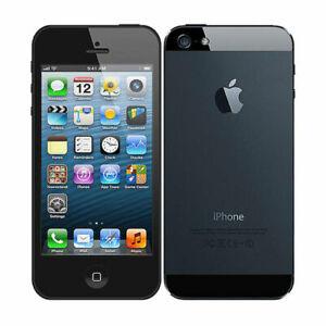 Good Condition Apple iPhone 5 16GB /32GB /64Gb Unlocked AT&T - Black & White