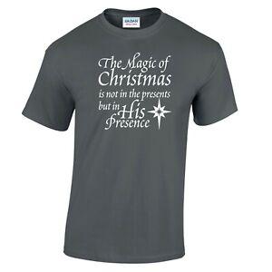Jesus T Shirt Miracle Bible Happy Birthday Jesus Christ Christian Christmas