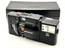 [Nr MINT w/Case] OLYMPUS XA 35mm Rangefinder Film Camera + A11 Flash from JAPAN