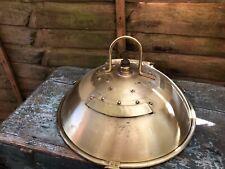 Vintage Brass Ships Light Ark Royal Industrial Light