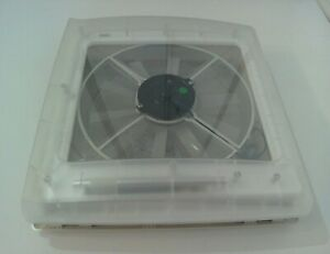 THULE OMNIVENT Caravan Rooflight Skylight Clear Dome 12v Extractor Fan