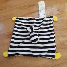 Ikea Klappa Zebra Horse Striped Comforter Blankie Blanket Soother Black White