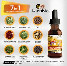 Dewormer for Dogs and Cats Broad Spectrum Worm Treatment for Pets & Puppy & Kitt