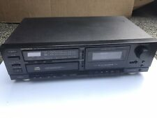 Optimus SCT 50 Stereo Cassette Deck with CD Player