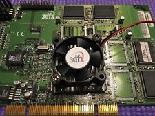 Voodoo 3 2000 PCI both ver. 1 & 2 GPU quiet fan cooler. VIDEO CARD NOT INCLUDED