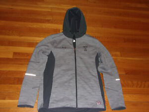 UNDER ARMOUR TEMPLE OWLS FULL ZIP MEDIUMWEIGHT HOODED JACKET MENS LARGE EXC.