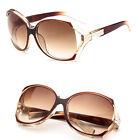 New Retro Fashion Big Style Women's Vintage Shades Oversized Designer Sunglasses