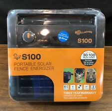 Gallagher S100 Portable Solar Fence Energizer G346404 OPEN BOX - FAST SHIPPING