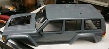 Axial SCX10 II 2000 Jeep Cherokee Grey Black Body Gray ll