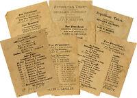 1888 Benjamin Harrison Morton Georgia Electoral Ticket (4541)