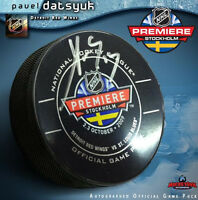 PAVEL DATSYUK Signed NHL Premier Game Official Game Puck - Detroit Red Wings