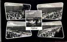 Koserow Mecklenburg Vorpommern DDR 5-fach Mehrbildkarte 1961 Strandansichten