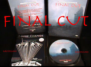 GIFTABLE QUALITY  LOOSE CHANGE FINAL CUT DVD CASE ART
