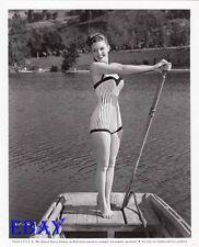 Luana Patten busty leggy VINTAGE Photo circa 1956