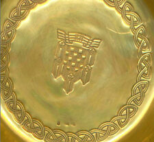 CROATIA ARMY -MINISTRY OF DEFENCE- HEADCOMMAND,Small silver gilt bowl for sweets