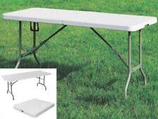 Tablas Mesa de jardín e campamento Plegable 152x76 En Polietileno