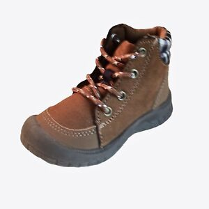 OshKosh B'Gosh Boys Ankle Boots Size 7 Toddler Benito Bump Toe Boots