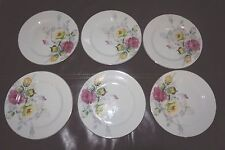 Rose Design Regina Small Serving Plates 6Pc Occupied Japan