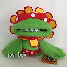 "New Super Mario Bros. Sunshine Plush Petey Piranha Soft Toy Doll Teddy 7"""