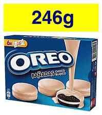 OREO White Chocolate Covered Cookies 246g 8.5oz FREE WORLDWIDE SHIPPING