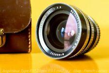 Angénieux Type R11 28mm f/3.5 Black Chrome m42 [Dallmeyer / Kinoptik]