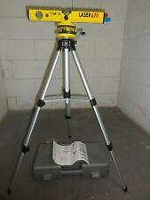 Laser Wasserwage mit Stativ und Koffer.