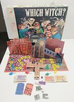 Vintage 1970 3D Milton Bradley Which Witch? Board Game See Pics & Notes