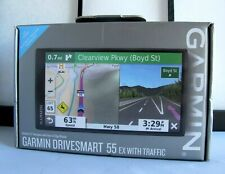 "Garmin DriveSmart 55 GEX with Traffic 5.5"" GPS Navigator 010-02037-09"
