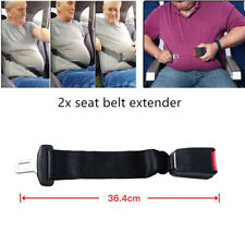 2x36cm Car Seat Seatbelt Safety Belt Extender Extension Buckle For Boby Fat Men