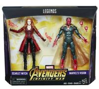 Marvel Legends Avengers: Infinity War - Scarlet Witch and Vision 2-Pack