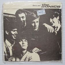 """Here Are THE SONICS 1990 Mousehole Music UK 7"""" EP Garage Rock 45 SEALED Punk"""